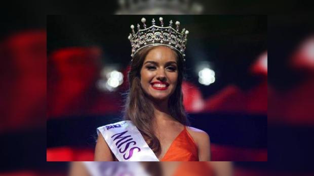 Самая красивая украинка отправилась в КНР наконкурс «Мисс мира»— Полина Ткач