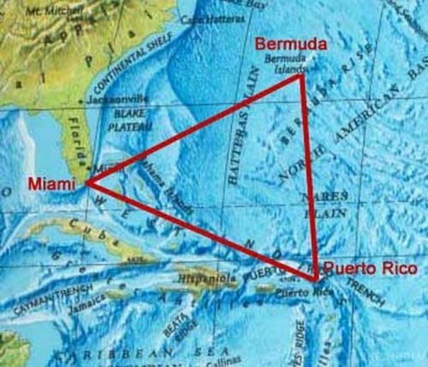 Ученые: Тайна Бермудского треугольника раскрыта