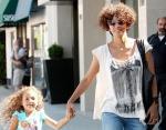 Холли Берри с дочерью Налой