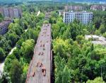 Мертвый город Припять в Украине