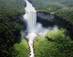 Кайетур водопад, Гайана