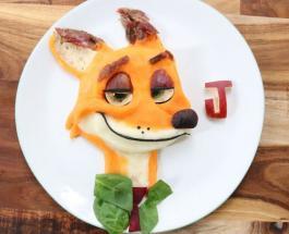 Вкусное вдохновение: мама радует сына мультфильмами в тарелке