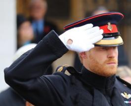 Принц Гарри отдал честь героям войны на Поле Памяти Вестминстерского аббатства