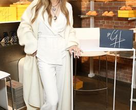 Джиджи Хадид примеряла два «подвенечных» наряда в Нью-Йорке