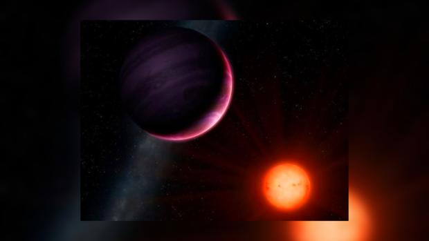 Ученые обнаружили огромную планету вокруг малой звезды