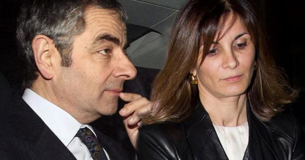 Роуэн Аткинсон с бывшей женой
