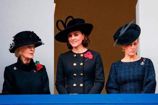 Беременная Кейт Миддлтон вбархатном наряде восхитила элегантным образом