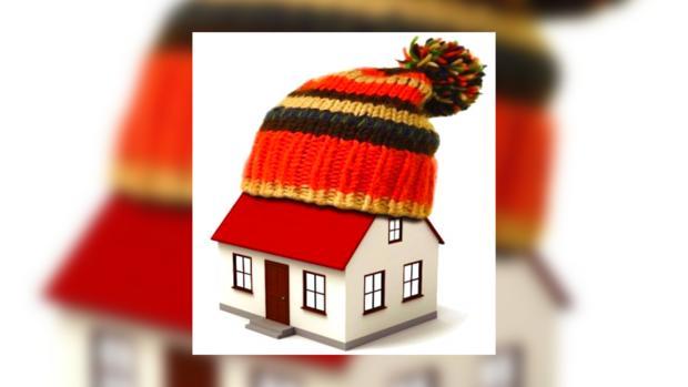 Домик в шапке
