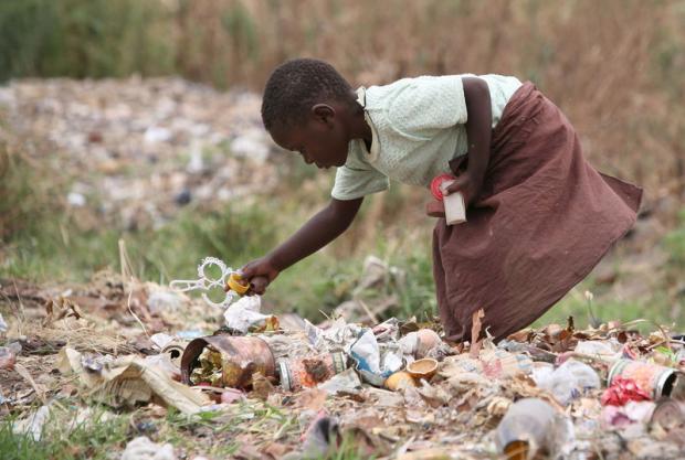 Зимбабве нищета