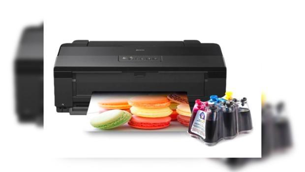Принтер Epson с системой СНПЧ