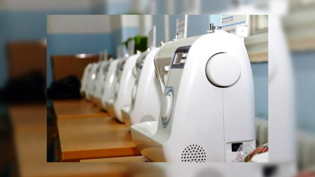 Несколько швейных машин