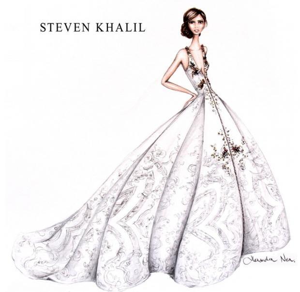 20856baf961 Свадебное платье Меган Маркл  австралийские дизайнеры предлагают ...