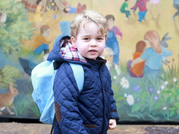 Что попросил принц Джордж наРождество: принц Уильям сообщил письмо Санта-Клаусу