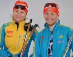 Украинские спортсменки заняли второе место в эстафетной гонке этапа Кубка мира по биатлону