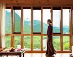 Комната с видом на долину из окон Uma by Como, Пунакха, Бутан.