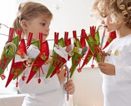 Как сделать адвент-календарь для детей своими руками: мастер-класс