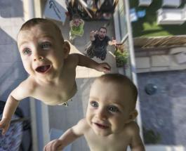 Самая смешная фотосессия близнецов от папы-фотографа