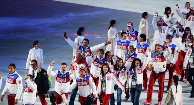 спортсмены из России
