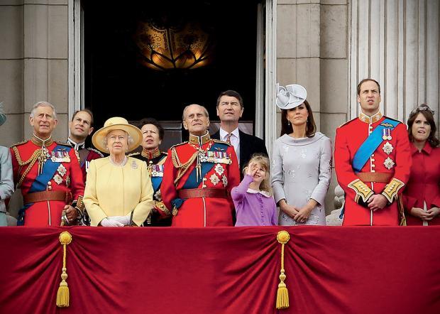 монаршие особы британии