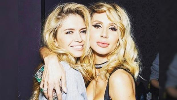 Лобода иБрежнева опубликовали в социальная сеть Instagram видеоролик в роскошных секси-платьях