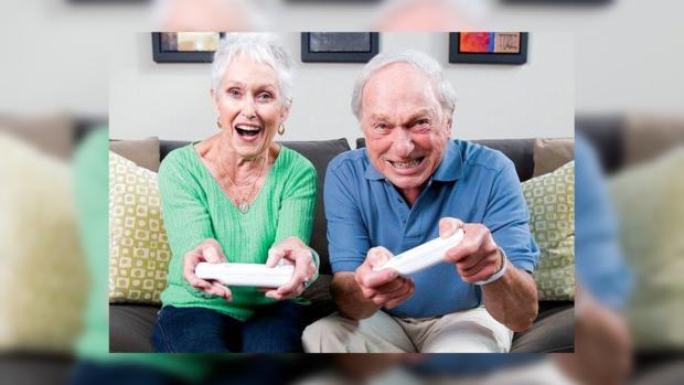 пенсионеры и видеоигры
