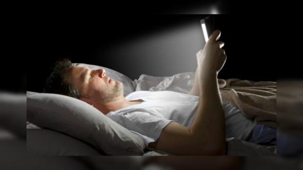 в телефоне перед сном