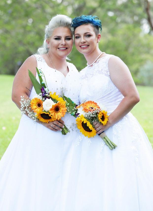 Однополые браки разрешили в Австралии: проведена первая официальная свадебная церемония