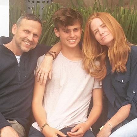 фентон с семьей