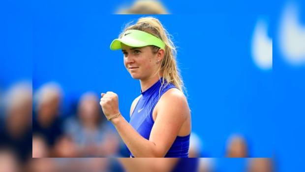 Теннис: Украинка Свитолина одержала победу всамом начале нового сезона