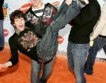 14-летний Ник Джонас с братьями