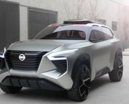 ТопЖыр: Nissan представил футуристический концепткар нового кроссовера Xmotion