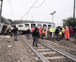 Крушение поезда в Италии: 3 человека погибли и более 100 получили травмы