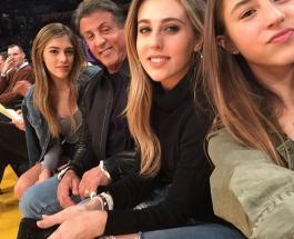 Дочь Сталлоне покорила британского актера Грегга Салкина