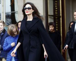 Анджелина Джоли в Париже с детьми внешний вид которых смутил общество