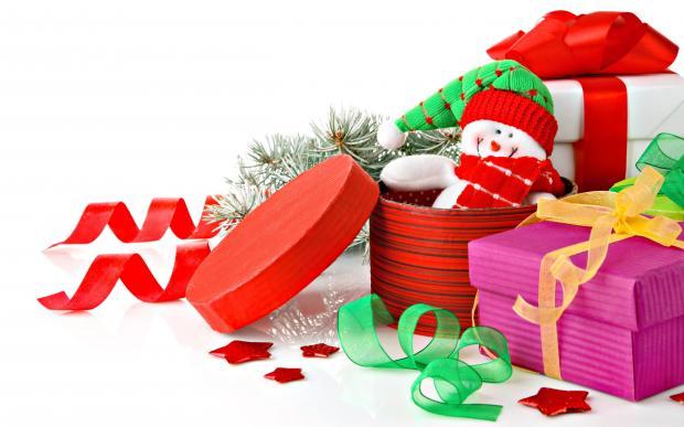упаковать новогодний декор