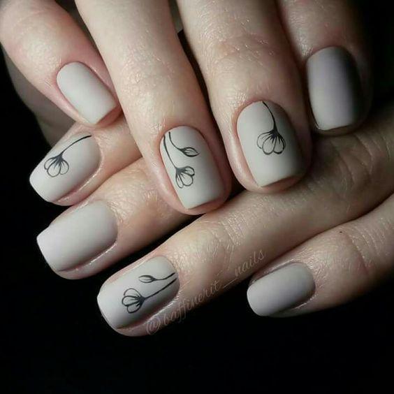 рисунки на ногтях. фото