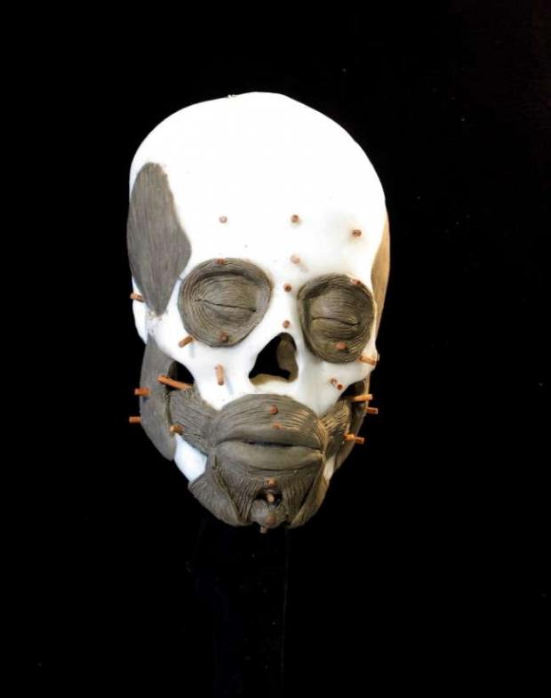 череп девушка