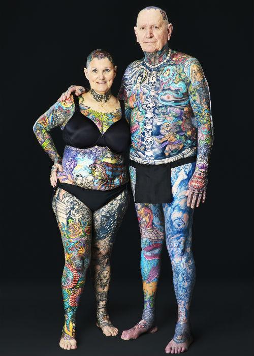 Книга рекордов Гиннеса: 69-летняя американка стала самой татуированной женщиной в мире