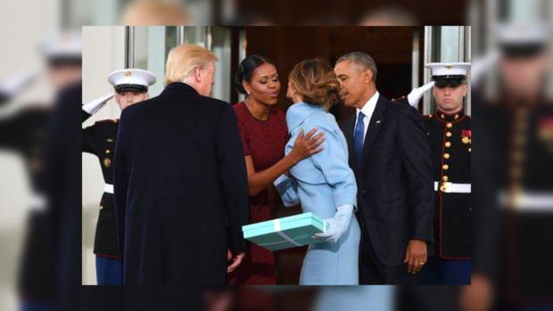 Мишель Обама угодила впросак сподарком отМелании Трамп