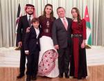 Иордания: Король Абдалла II и королева Иордании Рания с детьми