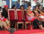 Король Свазиленда Мсвати III и его многочисленные жены