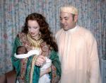 Марокко: Принцесса Лалла Сальма с супругом Мохаммедом VI