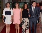 Монако: Полина Дюкре, Камилла Готтлиб, принцесса Монако Стефания и Луи Дюкре