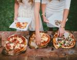Фуршет с пиццей