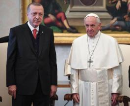 Первый визит Турции в Ватикан за 59 лет: Эрдоган встретился с Папой Франциском