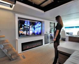 Новые технологии: как выглядит ультрасовременный дом на колесах с вертолетной площадкой