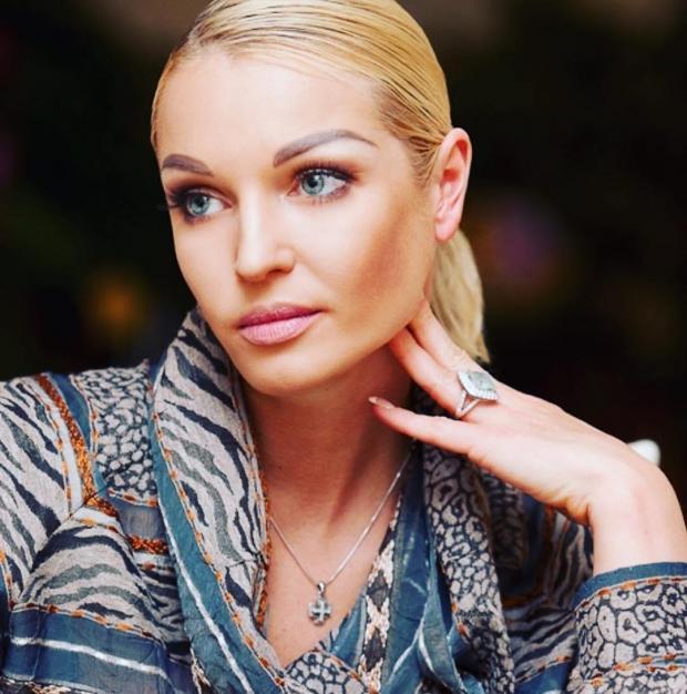 Анастасия Волочкова показала своё фото вмолодости