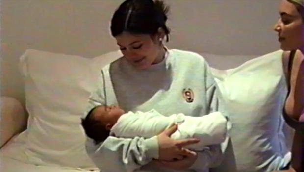 Кайли Дженнер стала мамой