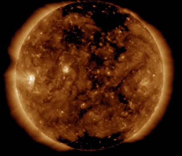 Ученые: выброс солнечной плазмы вчетверг повлияет намагнитное поле