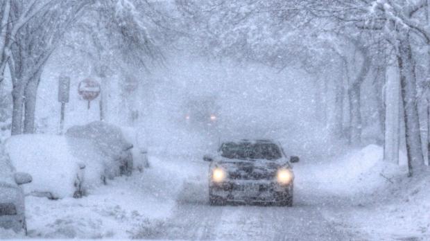 Снежная буря вСША: отменено больше тысячи авиарейсов